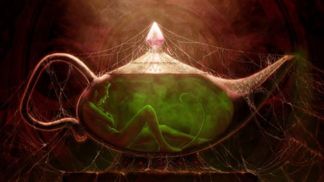 Джинн заточенный в лампе