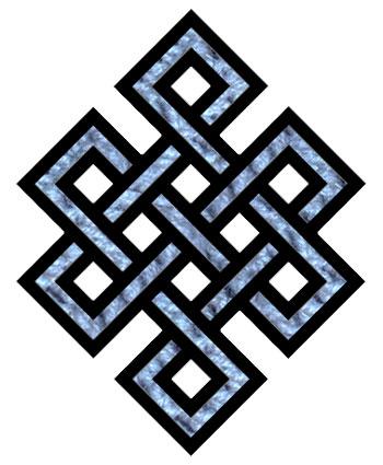 Бесконечный узел как символ кармы