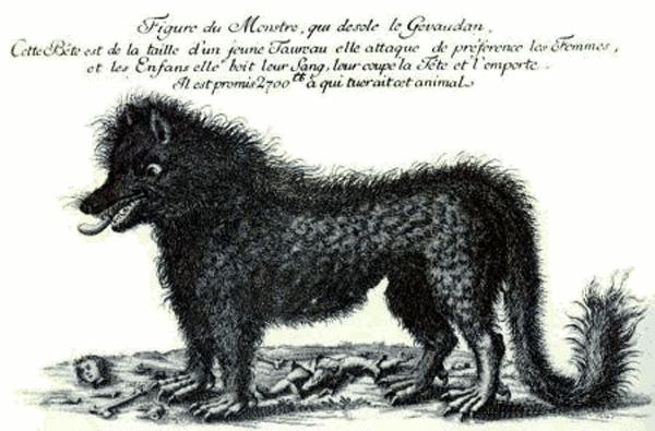 Объявление о вознаграждении за убийство волка