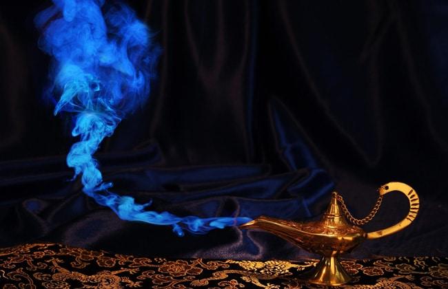 Лампа джинна с желаниями