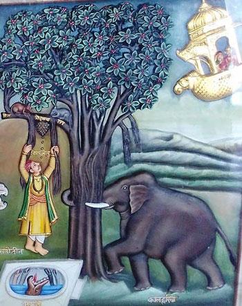 Изображение Сансары в Джайнизм Минском храме