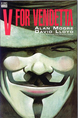 Обложка комикса «V for Vendetta»