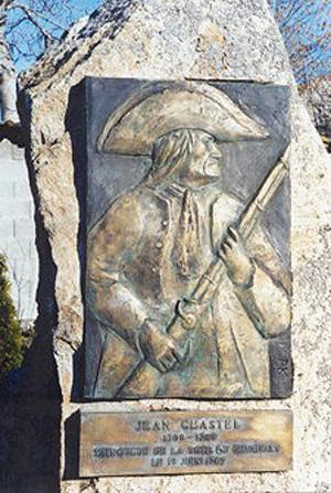 Памятник Жану Шастелю