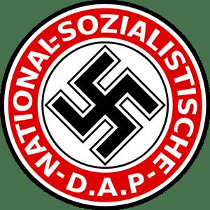 Эмблема партии, возглавляемой Адольфом Гитлером
