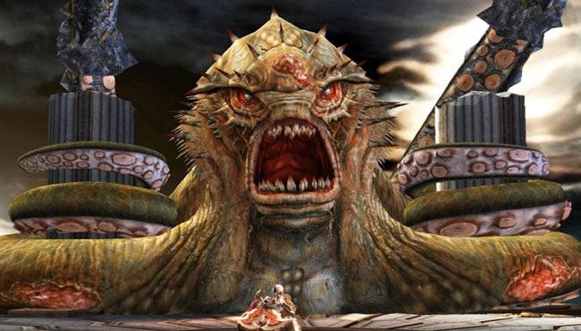 Кракен из игры «God of War»
