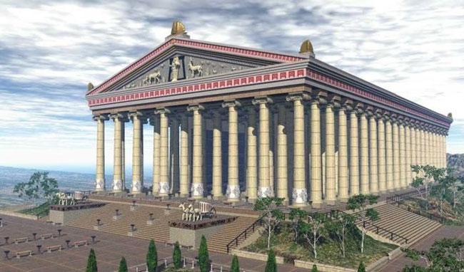 Храм Артемиды в Эфесе четвертое чудо света