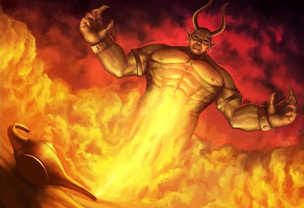 Огненный Ифрит
