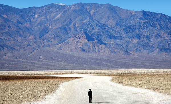 Вид на горы с трассы марафона