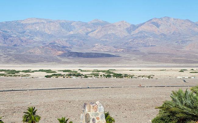 Современная индейская резервация в Долине Смерти