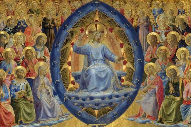 Одна из икон, на которое изображено Второе пришествия Христа.