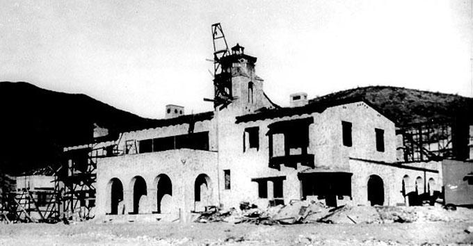 Замок Скотти до реконструкции