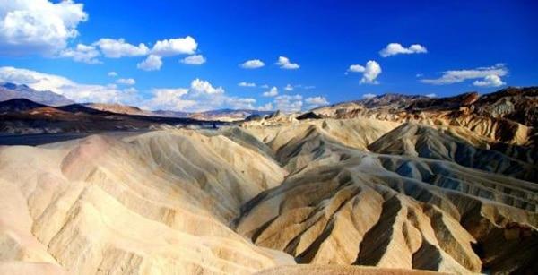 Вид на Дюны в Национальном парке Долины Смерти