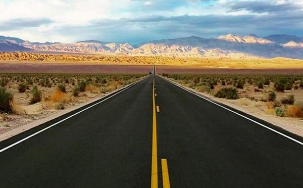 Трасса через Долину Смерти. Лас-Вегас