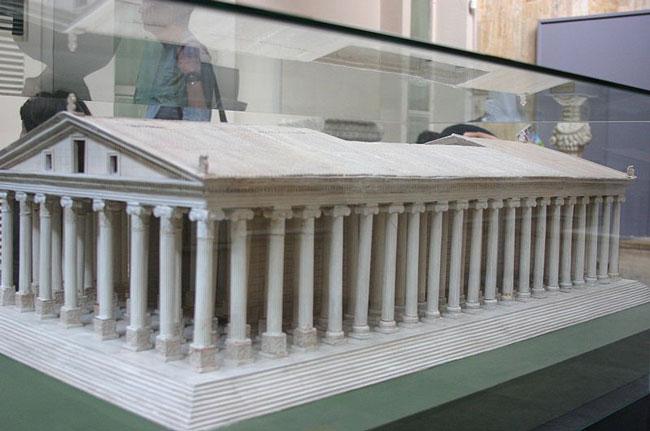 Модель второй постройки