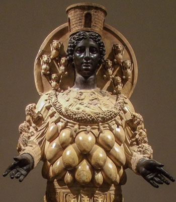 Статуя богини Артемиды