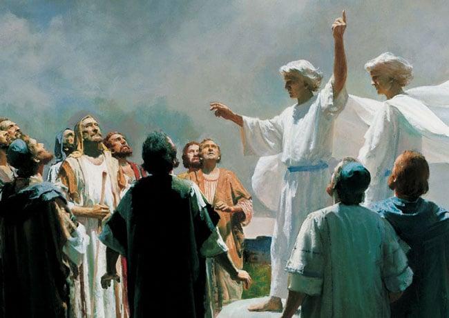 Картина, на которой изображен страшный божий суд
