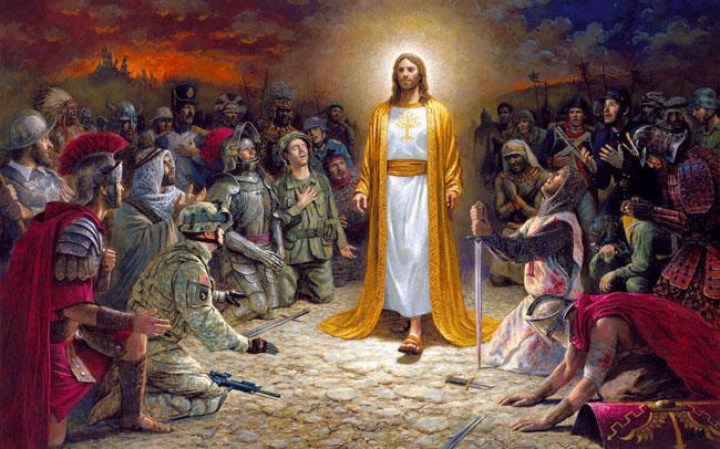 Второе явление Бога на Землю для проведения страшного суда
