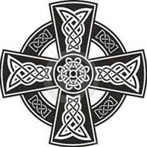 Кельтский крест эскиз