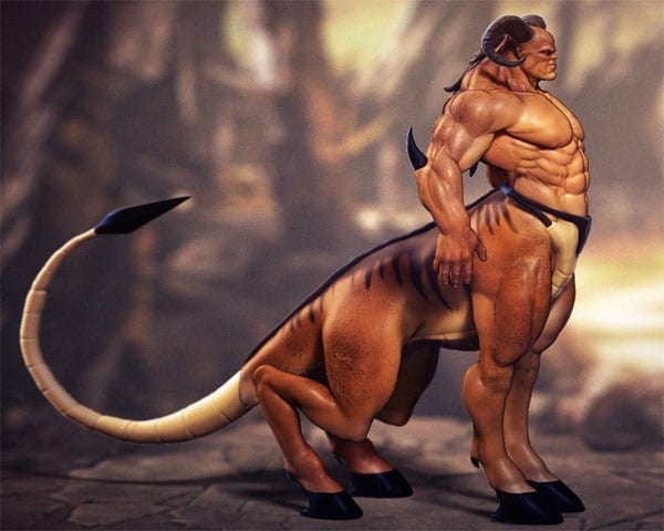 Кентавр из игры Mortal Kombat