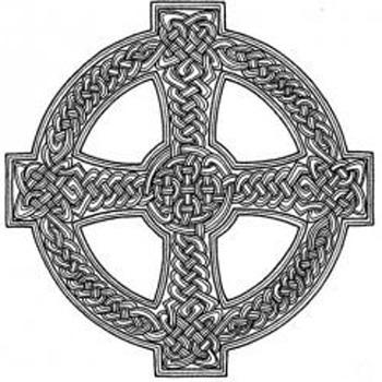 Каноничное изображение кельтского символа связью