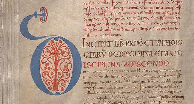 Разборчивый почерк в книге