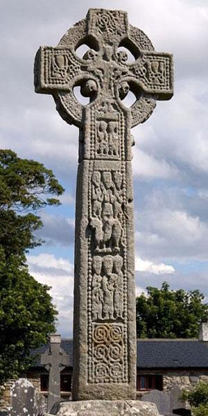 Один из сохранившихся древних каменных блоков