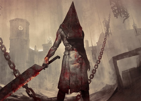 Пирамидоголовый из Сайлент Хилл - история и картинки на mifistoria.info