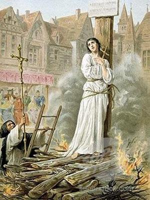 Сожжение Жанны