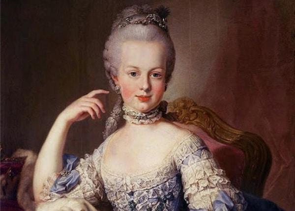 Мария-Антуанетта: биография королевы Франции. Портреты девушки на mifistoria.info