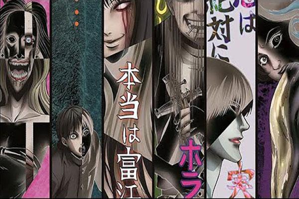 Коллекция Дзюндзи Ито. Опенинг, кадр из аниме