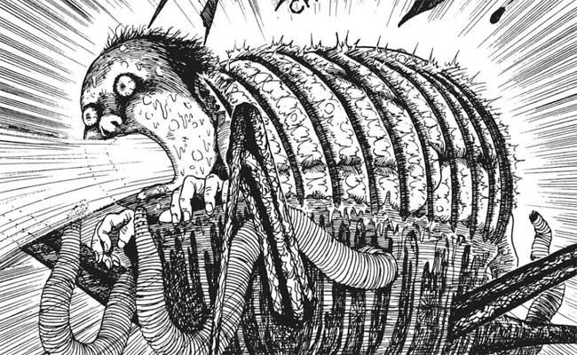 Картинка из манги «Рыба»