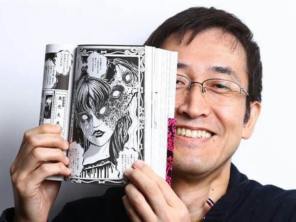 Художник Дзюндзи Ито с виду очень спокойный и интеллигентный человек