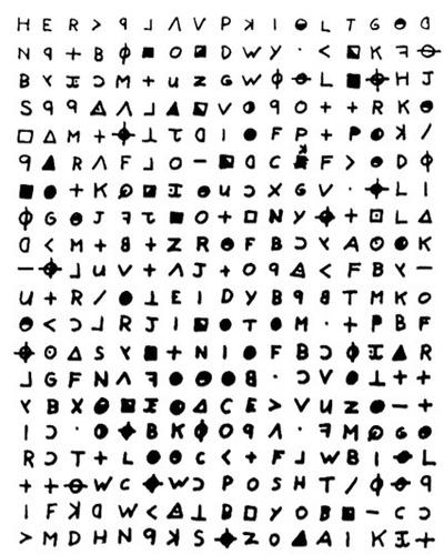 Некоторые из писем Зодиака не могут расшифровать до сих пор