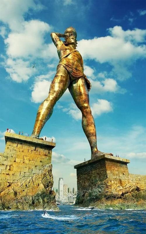 Статуя Колосса в гаване