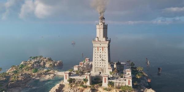 Одна из вариаций внешнего вида Фаросского маяка