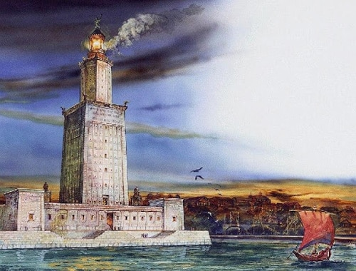 Седьмое чудо света — Александрийский маяк