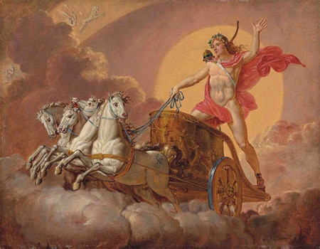 Бог Солнца - Гелиос