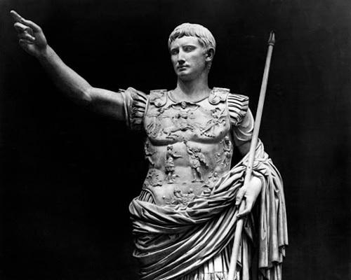Изображение римского полководца — Гай Октавиана Августа