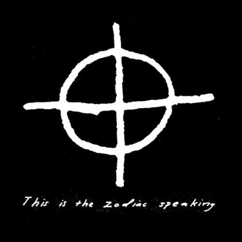 Знаменитая подпись Зодиака – окружность, перечеркнутая крестом