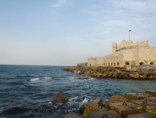 Крепость, которая была построена на месте полуразрушенной древнеегипетской конструкции