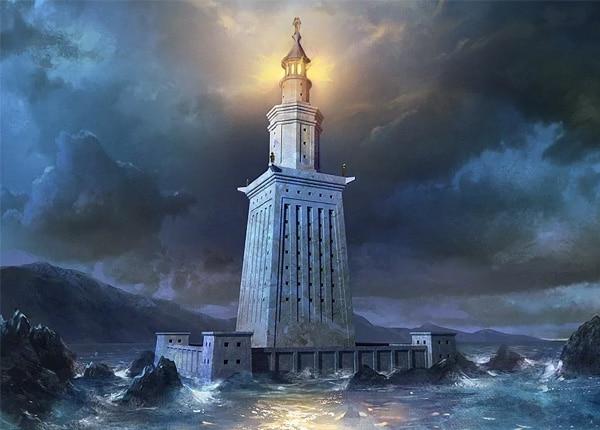 Фаросский маяк в Александрии - история и фото на mifistoria.info