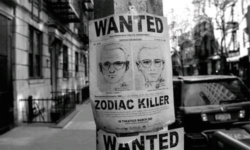 Объявление о розыске Зодиака с предполагаемой внешностью преступника
