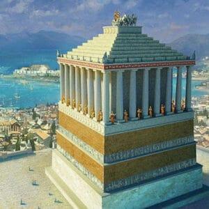 Мавзолей в Галикарнасе - чудо света из древнего мира на mifistoria.info