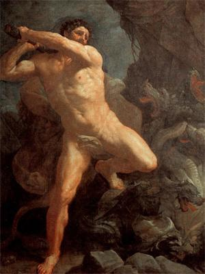Геракл и гидра, Гвидо Рени