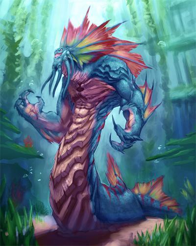 Наги из мира Warcraft