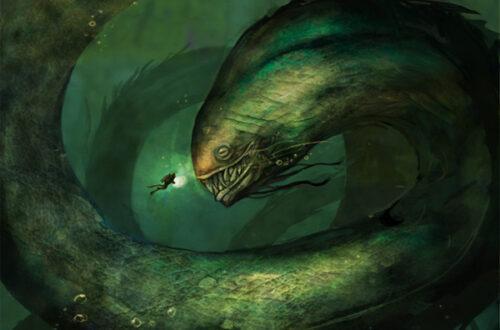 Левиафан змей - история и фото на mifistoria.info