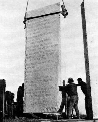 Заказчик строительства монумента общался с подрядчиками только через доверенное лицо