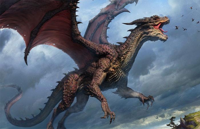 Яркий пример обычного дракона