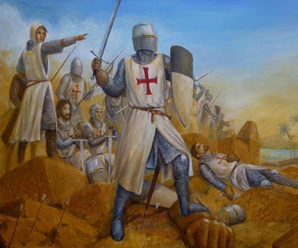За участие в крестовых походах рыцарям отпускались все их грехи, но история повернулась так, что храмовники снова стали грешниками