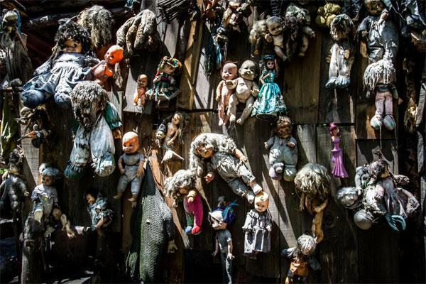Остров кукол: фото хижины